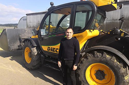 Телескопический погрузчик DIECI — инновационный помощник в сельском хозяйстве