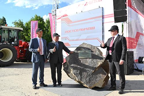 Строительство тракторного завода Ростсельмаш. Официальный старт