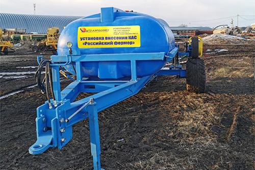 Опыт использования новой установки  для внесения жидких удобрений  в ООО «Приозерное»