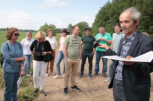 Опыт выращивания гороха  в сертифицированном органическом предприятии ООО «Агро»