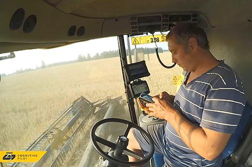 Инновационная технология  быстрого обучения агророботов  от Cognitive Pilot