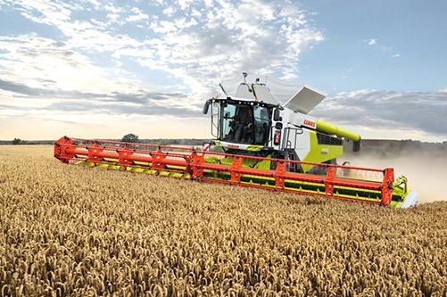 Результаты внедрения нового поколения зерноуборочных комбайнов будут представлены на выставке АГРОСАЛОН 2020