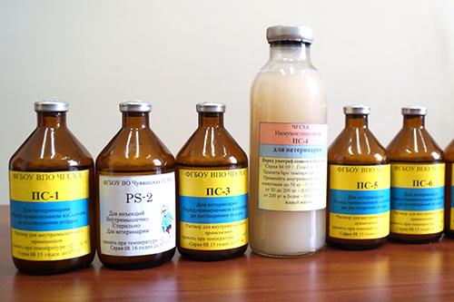 Инновационные российские иммунопрепараты  для сельхозживотных