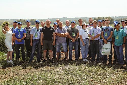 Технологии компании BASF на полях Сибирского региона