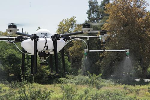 Опыт использования отечественных БПЛА для агрохимической обработки  в КФХ «Урожайное»