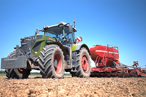 Опыт использования  нового трактора Fendt 933 Vario G6