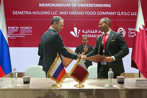 Россия и Катар:  новые возможности для партнерства  в агропромышленной сфере